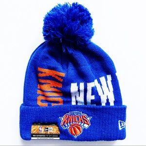 🆕 New York Knicks New Era Winter Hat Beanie NBA